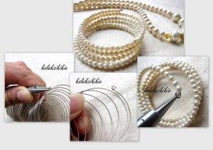 membuat-gelang-lilit-mutiara